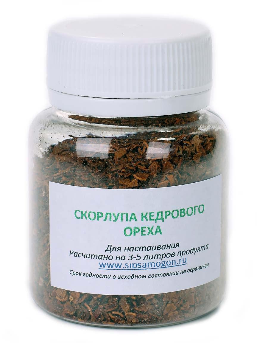 Скорлупа кедрового ореха, 50 гр